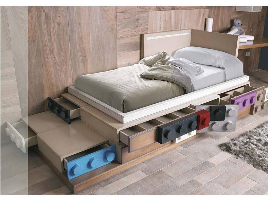 Как сделать лего кровать