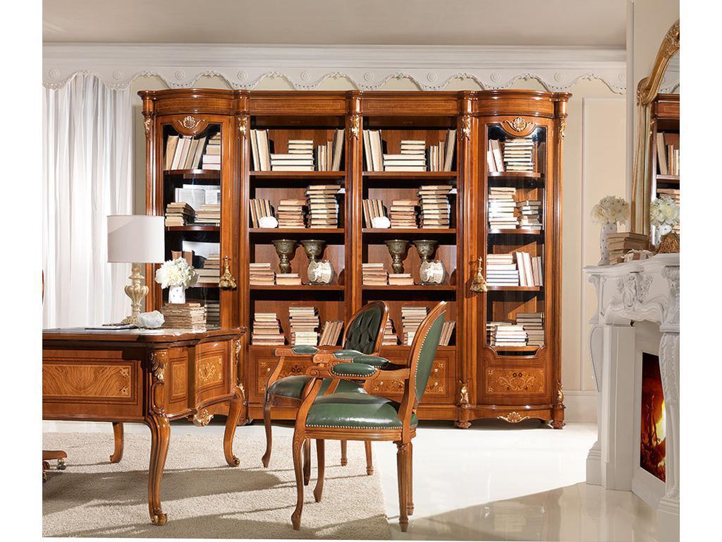 Книжный шкаф n 4 (кабинеты antonelli moravio) итальянская ме.