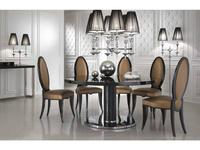 стол обеденный  Adler DV Home Collection  laccato, кожа под крокодила