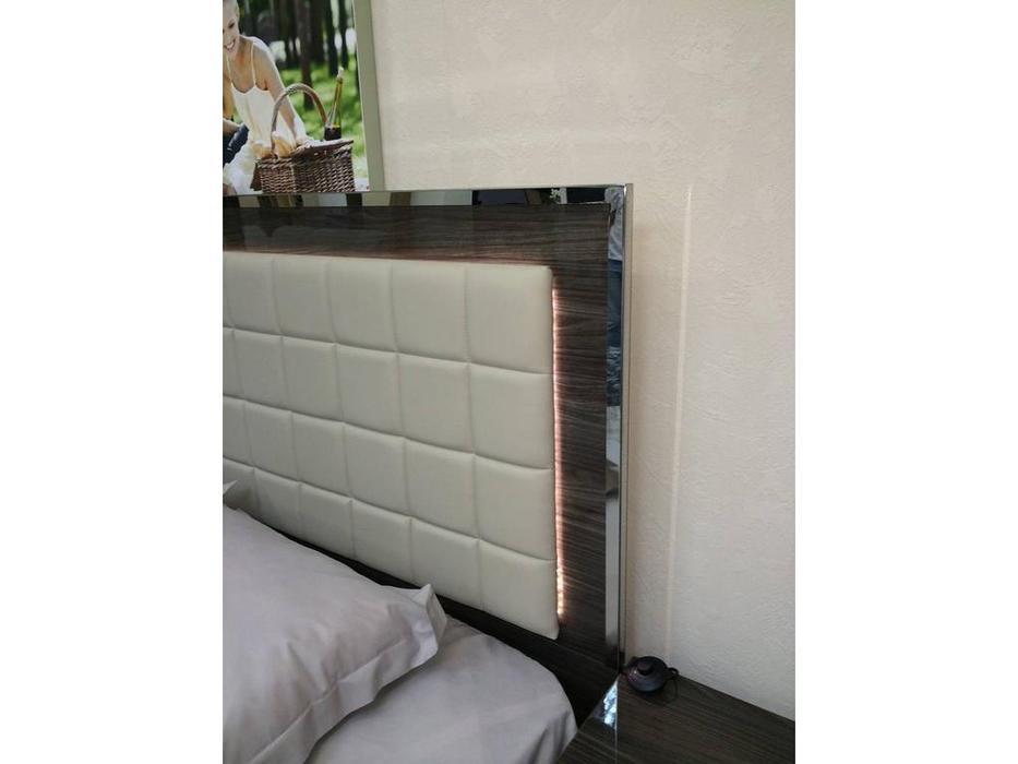 5208009 кровать двуспальная 160200 с подсветкой San Marino H2o