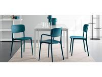 стул  Liberty Calligaris  [CS/1883] синий
