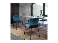 стул  Love Calligaris  [CS/1885-A] черный, синий