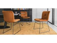 стул  Annie soft Calligaris  [CS/1847] черный, ткань